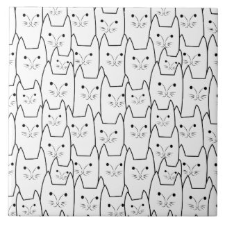 Carreau Motif mignon de chats
