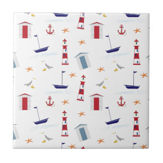 Carreau Motif nautique simple