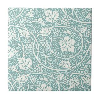 Carreau Motif vintage de raisin de papier peint floral