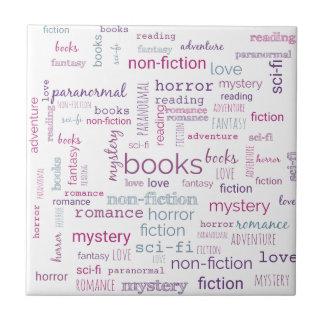Carreau Mots pour des livres