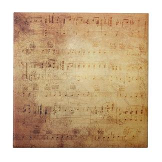 Carreau Musique antique