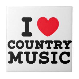 Carreau musique country du coeur i