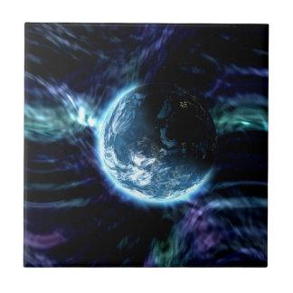 Carreau Nébuleuse étoilée de l'aurore de l'espace