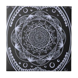 Carreau Noircissez, en réveillant le motif de zen,