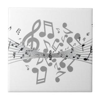 Carreau Notes de musique