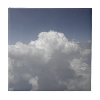 Carreau Nuages à 30.000 pieds d'une fenêtre d'avion