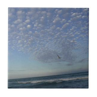 Carreau Nuages de plage