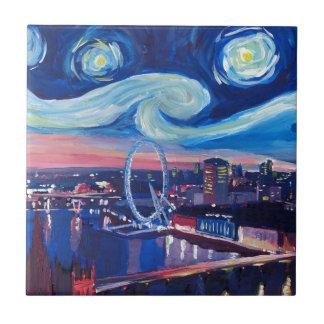 Carreau Nuit étoilée à Londres