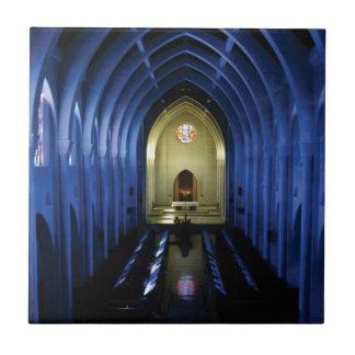 Carreau ombres de l'église bleu-foncé