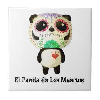 Carreau Panda du jour des morts