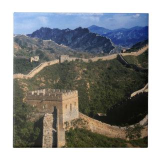 Carreau Paysage de Grande Muraille, Jinshanling, Chine