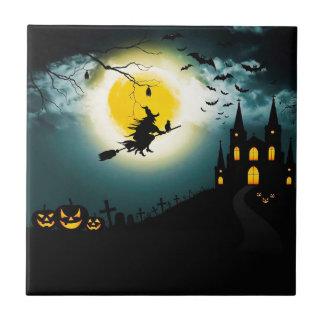 Carreau Paysage de Halloween