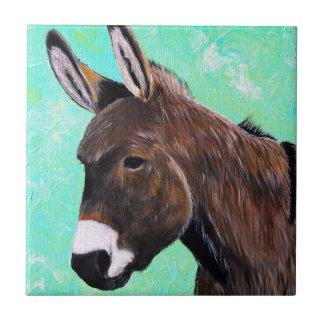 Carreau Peinture d'âne