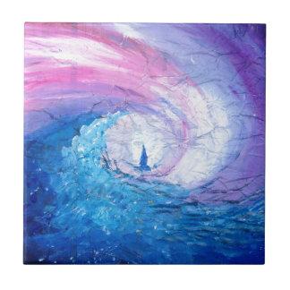 Carreau Perdu dans les vagues, amusement de conception de
