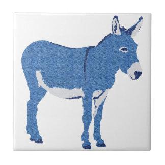 Carreau Petit âne d'Eddie pas vraiment bleu