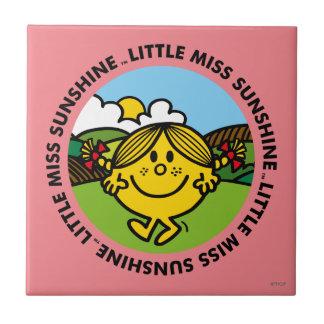 Carreau Petit cercle de soleil de Mlle Sunshine |