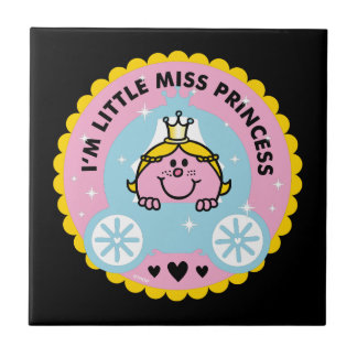 Carreau Petite Mlle le princesse   je suis une princesse