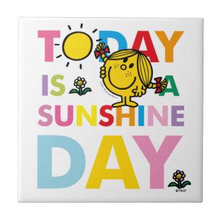 Carreau Petite Mlle Sunshine   est aujourd'hui un jour de