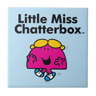 Carreau Petite petite Mlle Chatterbox de la Mlle   est si