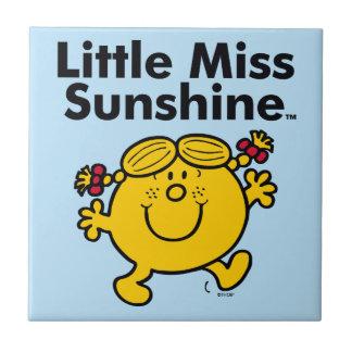 Carreau Petite petite Mlle Sunshine de la Mlle   est un