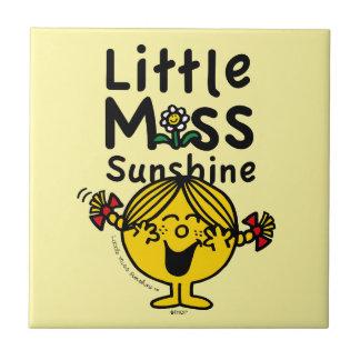 Carreau Petite petite Mlle Sunshine Laughs de la Mlle |