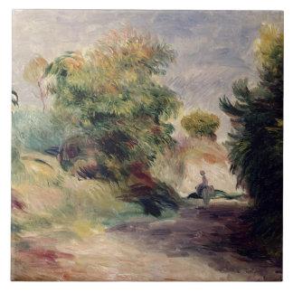 Carreau Pierre un paysage de Renoir   près de Cagnes