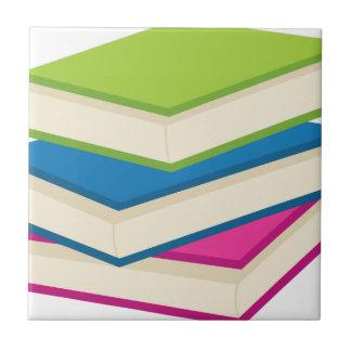 Carreau Pile de livres