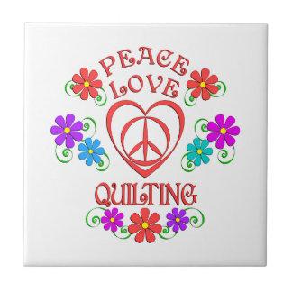 Carreau Piquer d'amour de paix