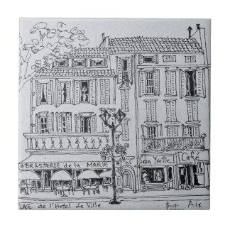 Carreau Place de L'Hotel De Ville | Aix-en-Provence