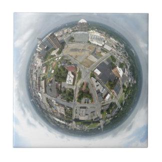 Carreau Planète minuscule de Greensboro