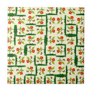 Carreau Plantes et fleurs