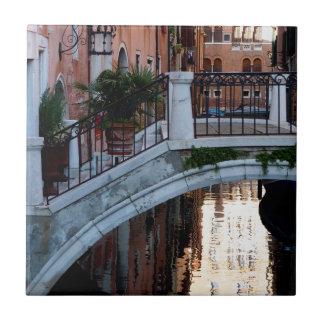 Carreau Pont au-dessus d'un canal