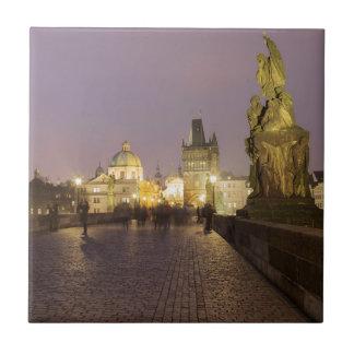 Carreau Pont de Charles, photo de souvenir de Prague