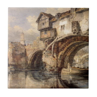 Carreau Pont de Gallois chez Shrewsbury par William Turner