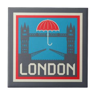 Carreau Pont de Londres avec le parapluie
