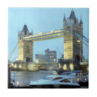 Carreau Pont de tour en photo de souvenir de Londres