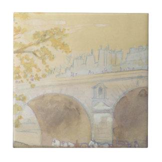Carreau Pont Marie de DES Celestins de Quai