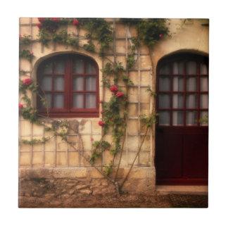 Carreau Porte de cottage rose