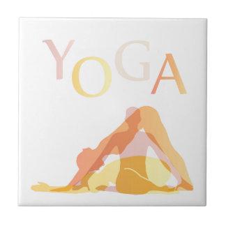 Carreau Poses de yoga