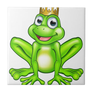 Carreau Prince de grenouille de bande dessinée