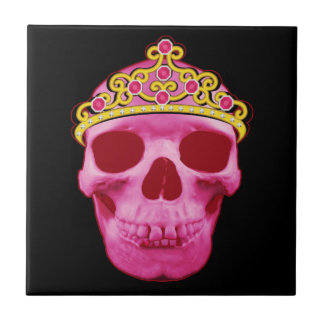 Carreau Princesse rose Skull