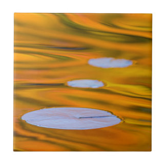 Carreau Protection de lis sur l'eau orange, Canada