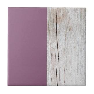 Carreau Purple + Wood