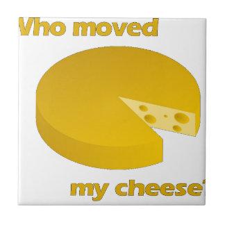 Carreau Qui a déplacé le fromage