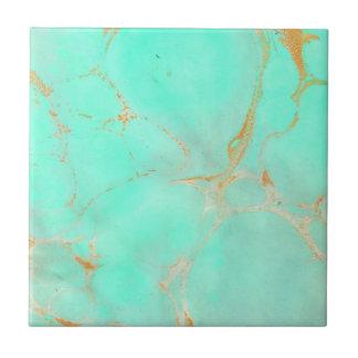 Carreau Regard peint par Teal d'Aqua d'abrégé sur marbre