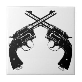 Carreau Revolvers croisés