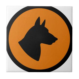 Carreau Risque de chien