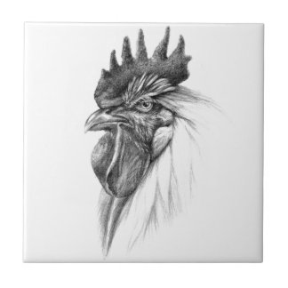 Carreau Rooster design by Schukina sk065