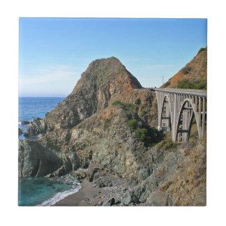 Carreau Route 1 de côte - grand pont de crique