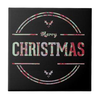 Carreau Salutation de Joyeux Noël